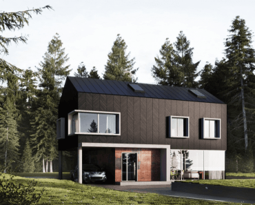 Best Selection of Small Modern House Exterior Designs