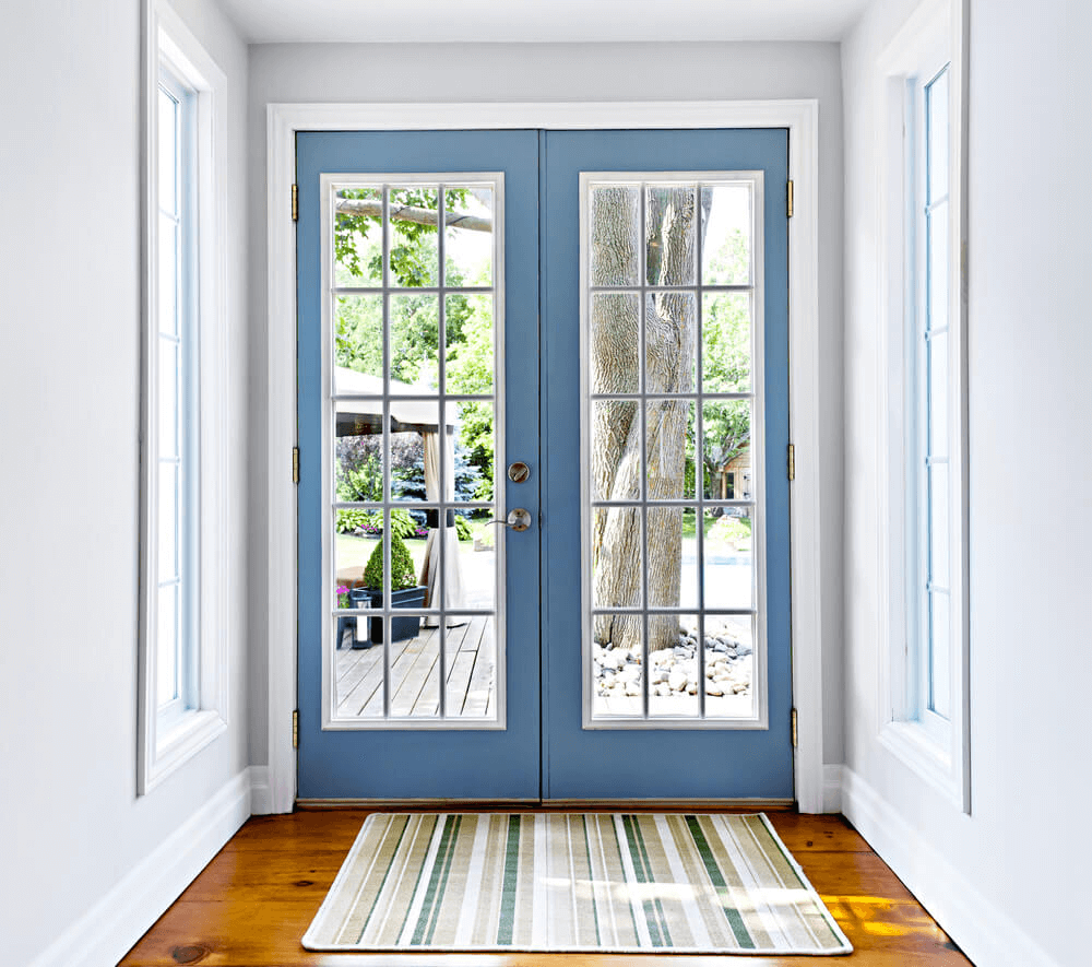 French doors for small house