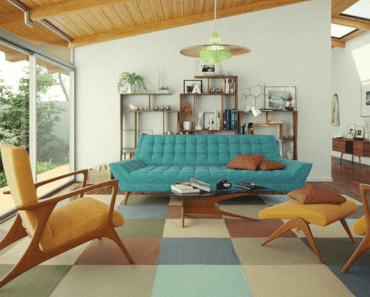 Mid century Ranch Living room decor ideas