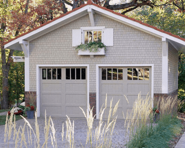 Detached Garage + A Driveway Design Ideas