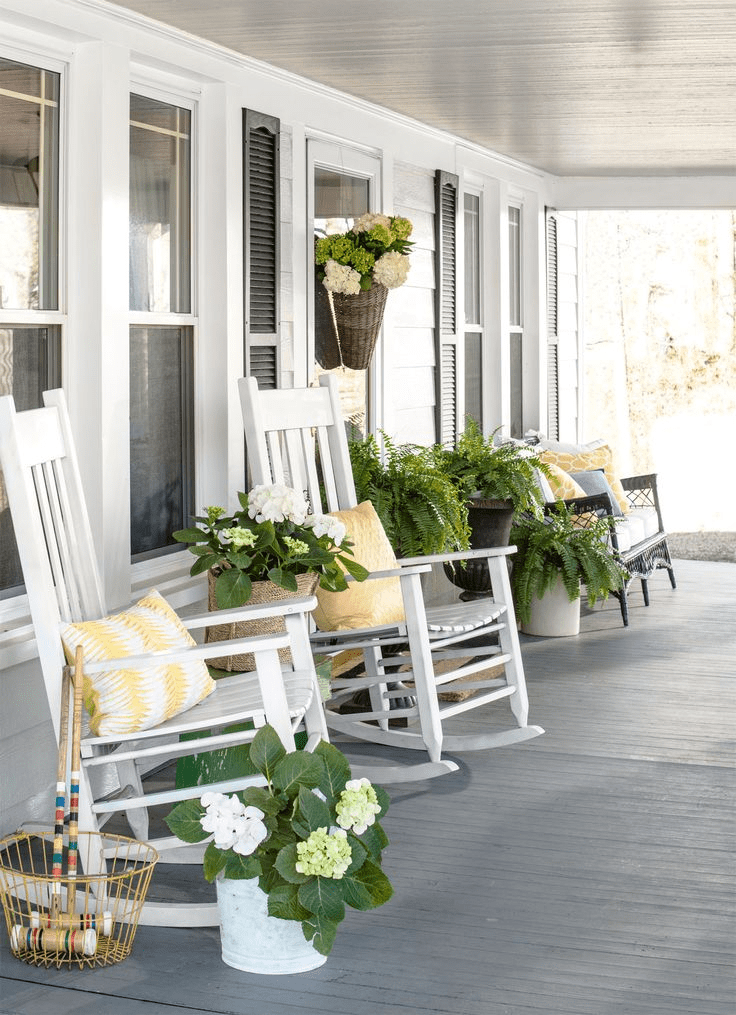 Farmhouse porch design country houses