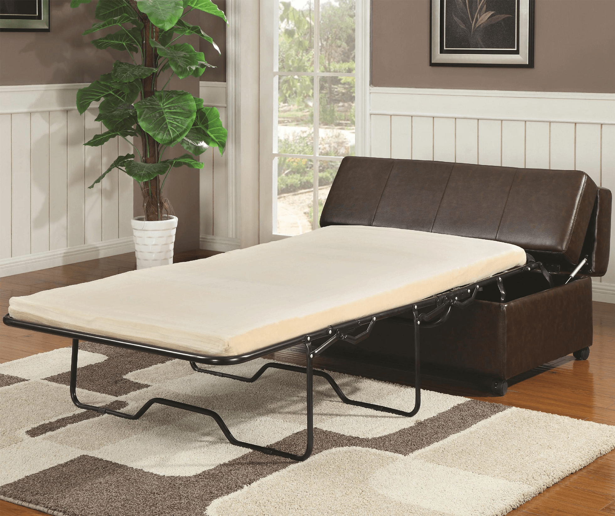 Folding bench table for small living room decor ideas