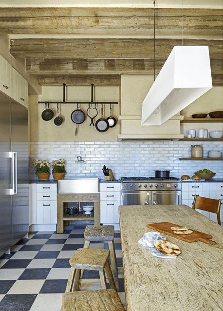 Mediterranean Farmhouse Kitchen Design Ideas