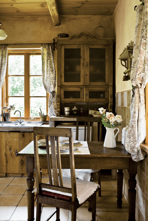 Small space rustic farmhouse kitchen decor ideas