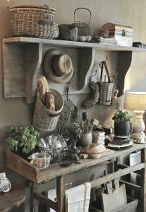 Rustic farmhouse small kitchen decor ideas