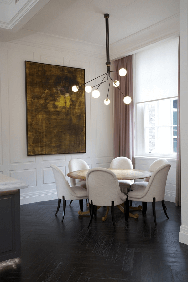 Small Dining Room Lighting Fixtures with Unique Bulb Ceiling Light
