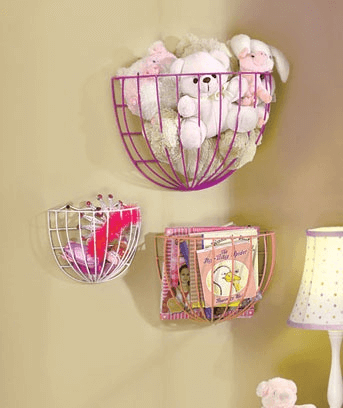 Fruit basket decor ideas diy for bedroom space saving