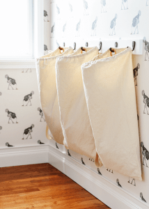 Hanging Laundry Hamper ideas small spaces