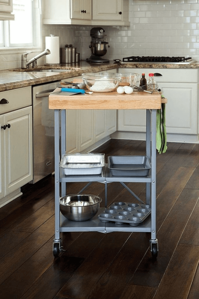 Trolley Portable Storage for small kitchen much spacious