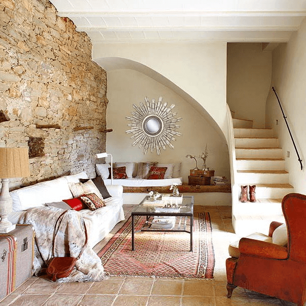 Under stairs living room ideas