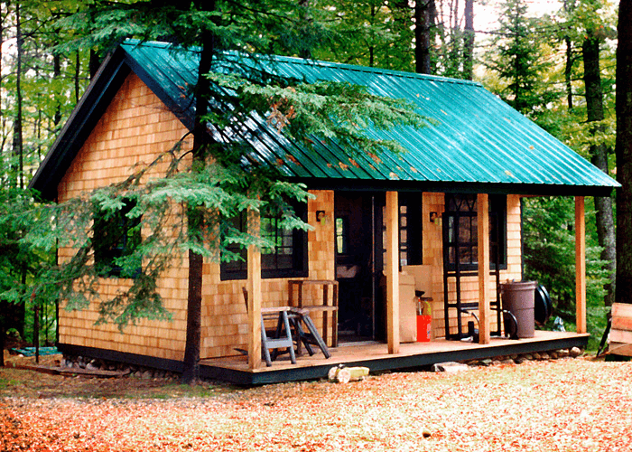 VERMONT COTTAGE tiny house kits from the Jamaica Cottage Shop