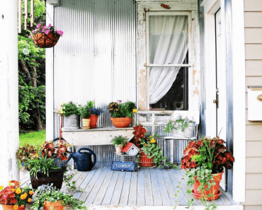 19 Rustic Front Porch Décor Ideas for Small House