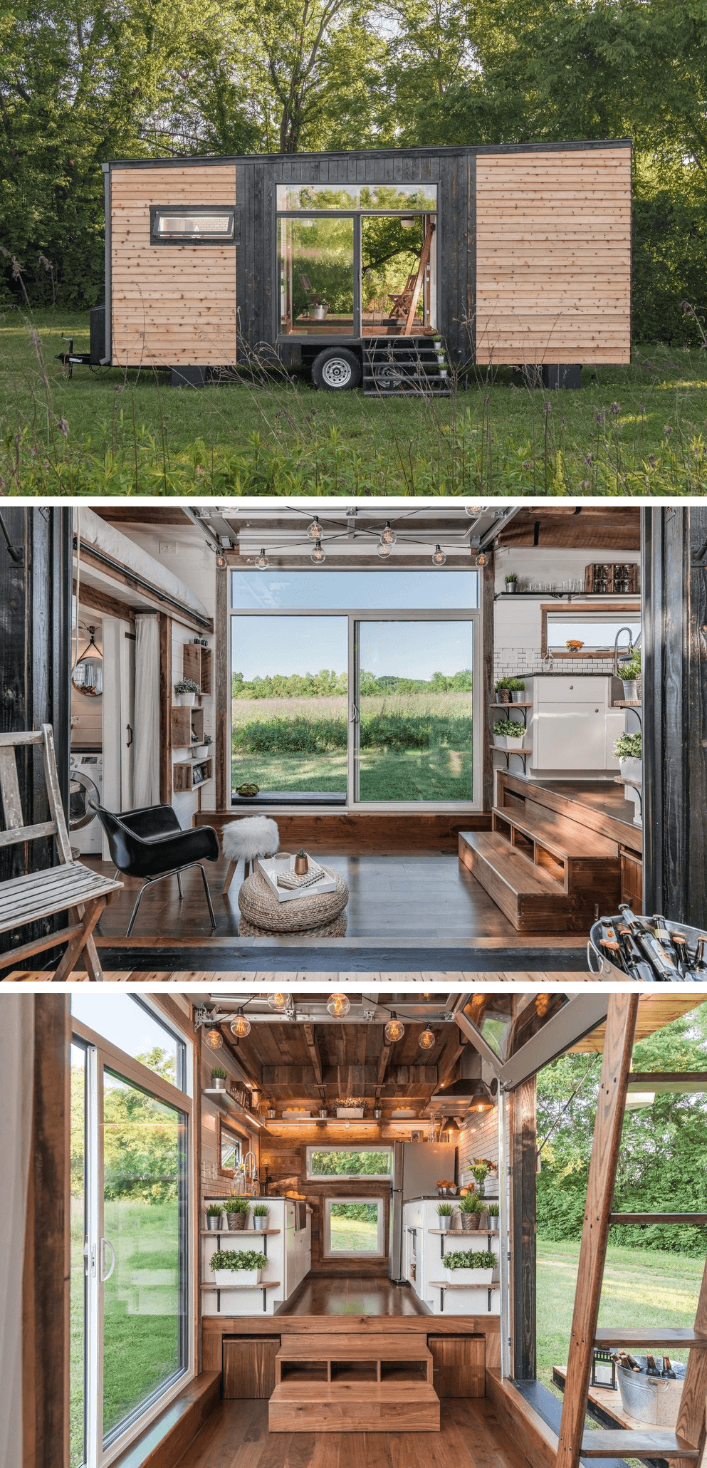 Alpha tiny house on wheels design ideas