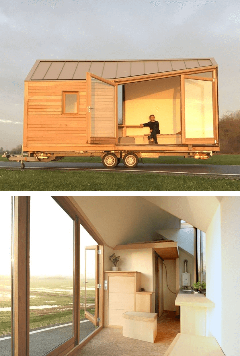 Porta Palace by WoonPioners Tiny Home on Wheels Design Ideas
