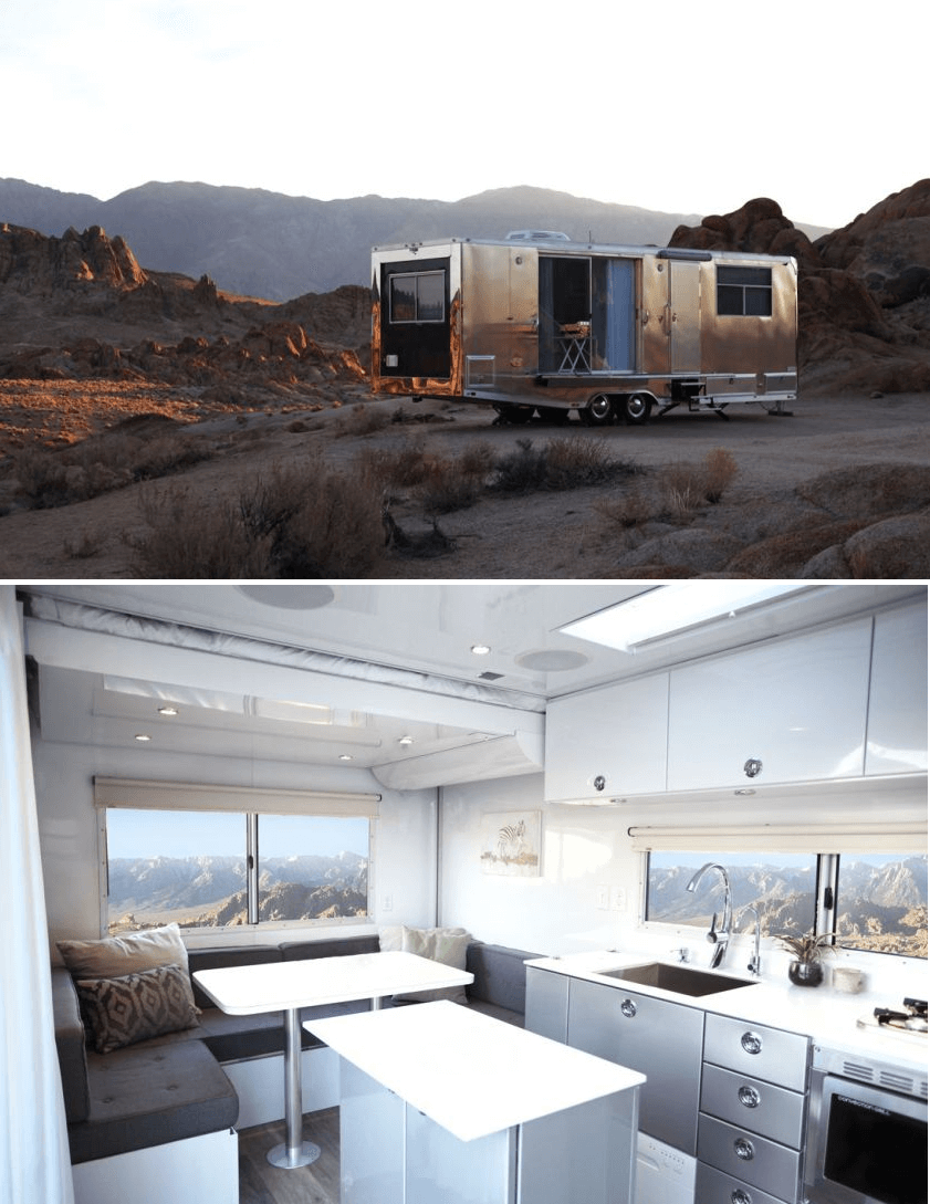 Tiny house on wheels design by Matthew Hoffman living vehicle