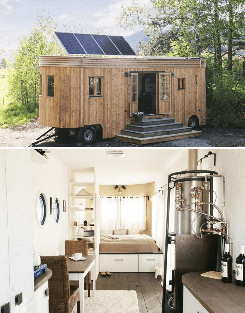 Wohnwagon tiny house on wheels Design Ideas