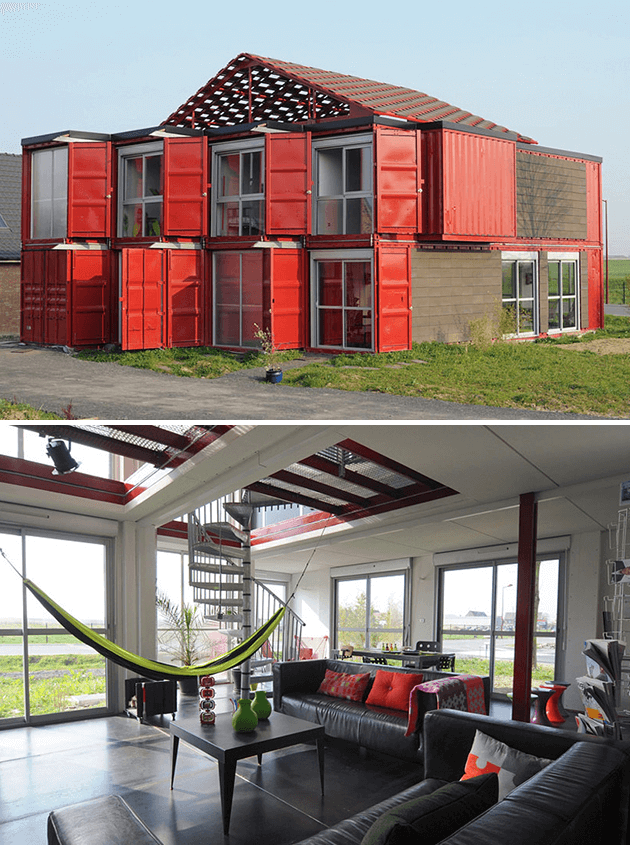 MAISON SHIPPING CONTAINER LIFE RESIDENCE