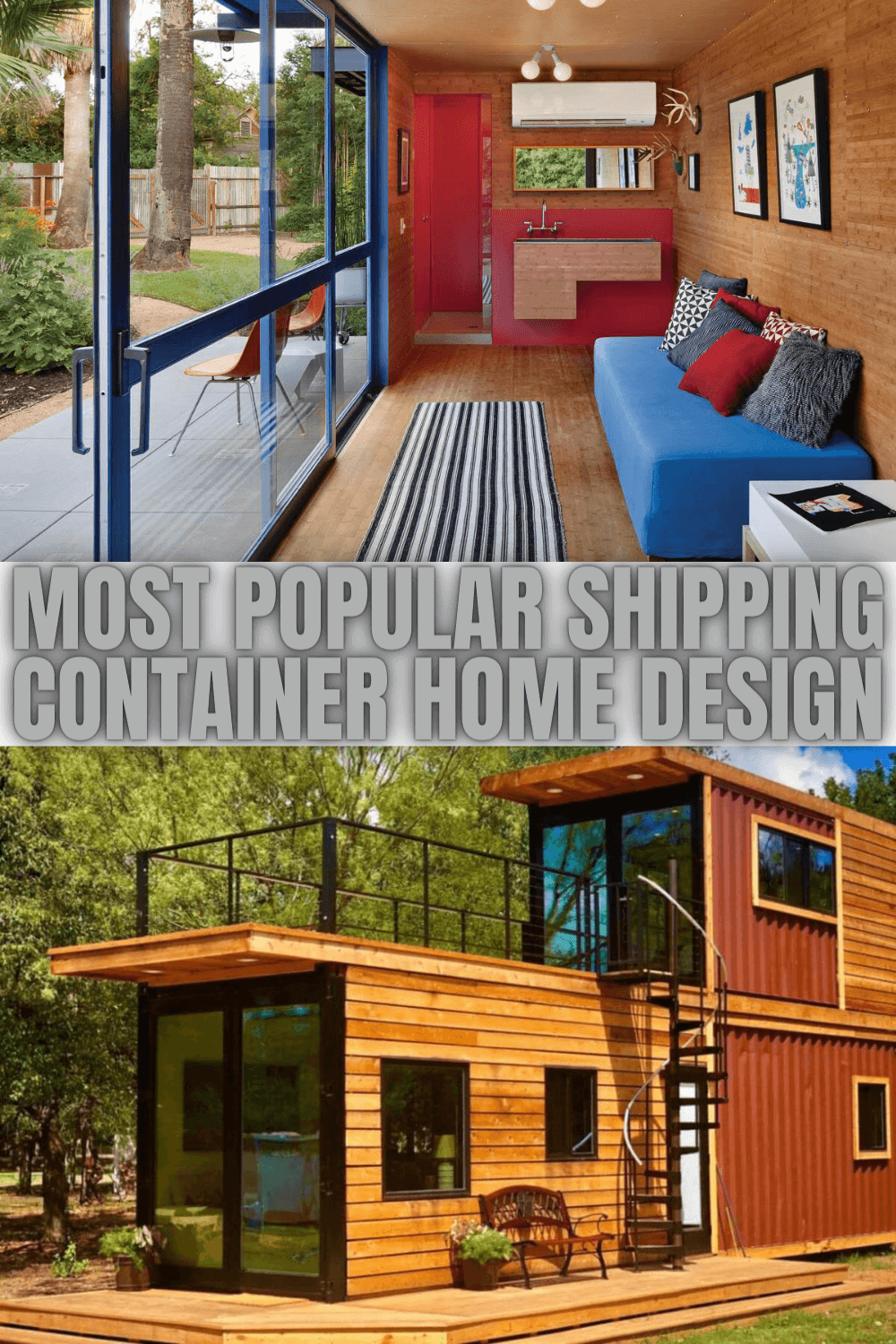 MOST POPULAR SHIPPING CONTAINER HOME DESIGN