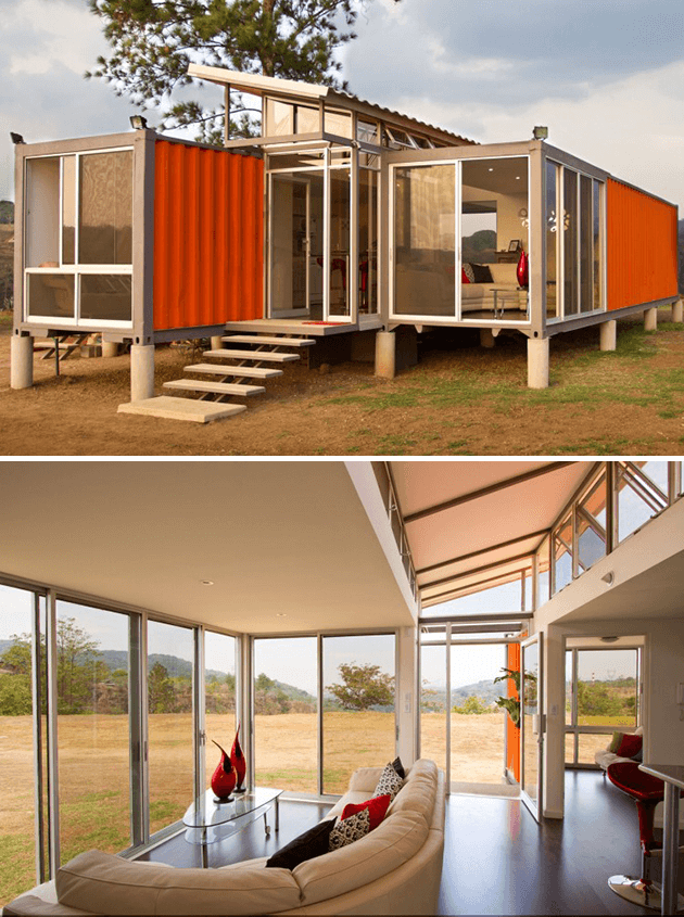 SHIPPING CONTAINER OF HOPE RESIDENCE COSTA RICA
