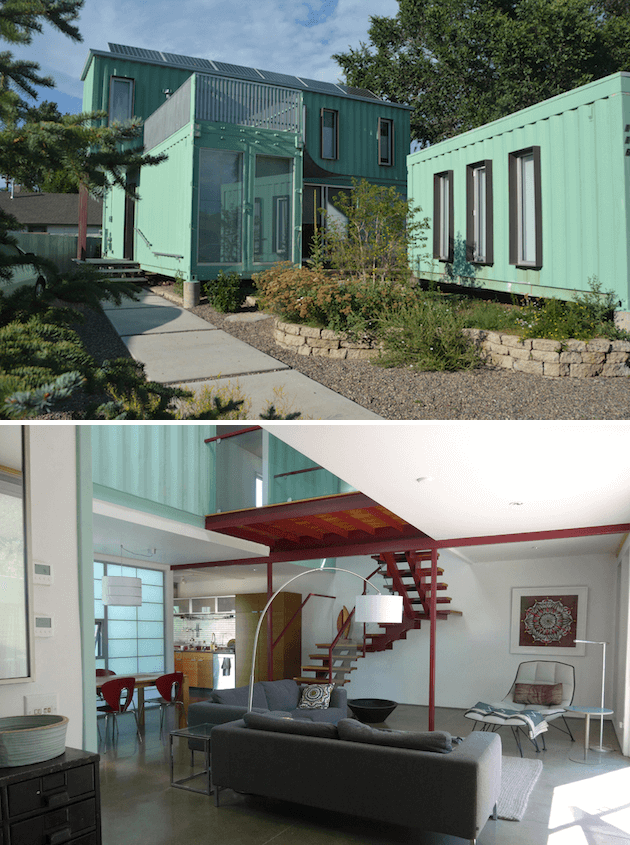 SIX-UNIT SHIPPING CONTAINER HOME DESIGN ARIZONA