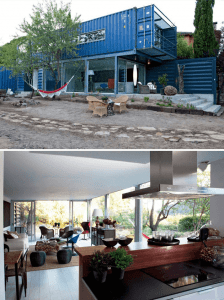 Stacked Shipping Container House Design Ideas Spain