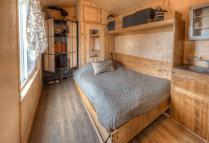 2. TINY HOUSE MURPHY BED IDEAS