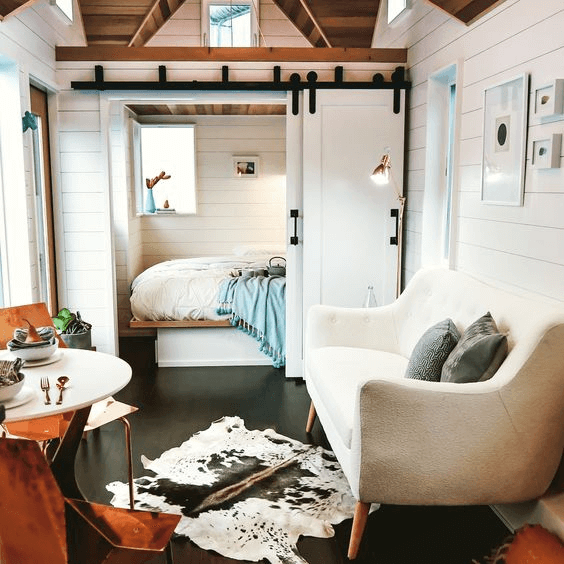 5. PLAY COLOR FOR TINY HOUSE BEDROOM DESIGN IDEAS