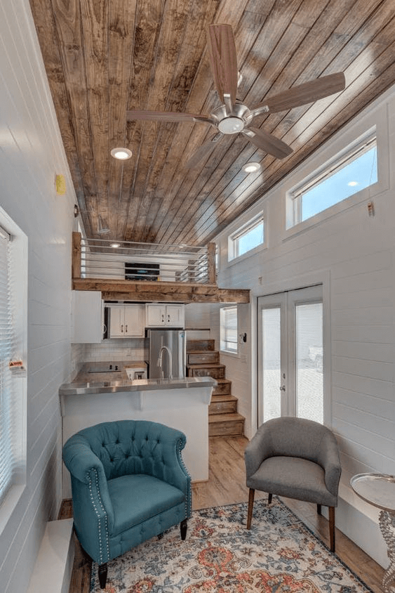 ALABAMA TINY HOMES LIVING ROOM DESIGN