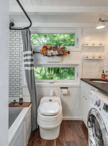 Alpha Tiny House Bathroom Design Ideas