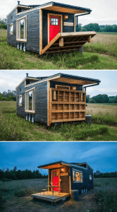 DRAWBRIDGE TINY HOUSE PORCH DESIGN IDEAS