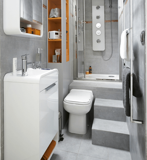 Multifunction appliances for bathroom tiny house