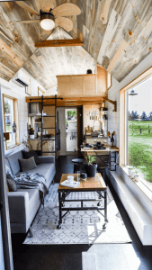 URBAN PAYETTE TINY HOME LIVING ROOM DESIGN IDEAS