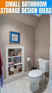 AWESOME SMALL BATHROOM STORAGE DESIGN IDEAS