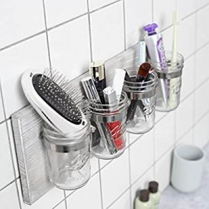 MASON JAR SMALL BATHROOM STORAGE IDEAS