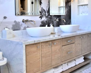 NICE SMALL BATHROOM STORAGE IDEAS WITH COUNTERTOP SINK