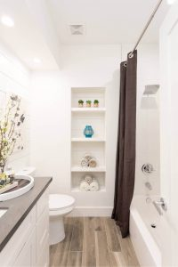 SMALL BATHROOM STORAGE DESIGN IDEAS FOR SPACE SAVING