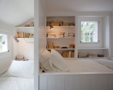 SMALL BEDROOM NOOK IDEAS WITH SHELVES