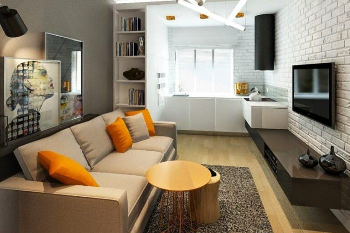 Small Kitchen Living Room Combo Ideas And Hacks Small House Tips