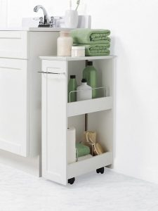 STORAGE CABINET IDEAS FOR SMALL BATHROOM
