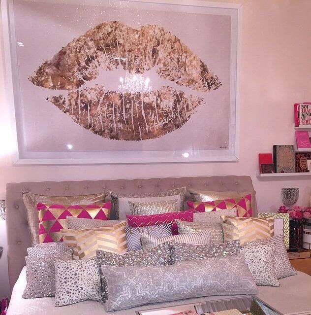 OVERSIZED WALL ART DECOR IDEAS FOR SMALL BEDROOM TEEN GIRLS