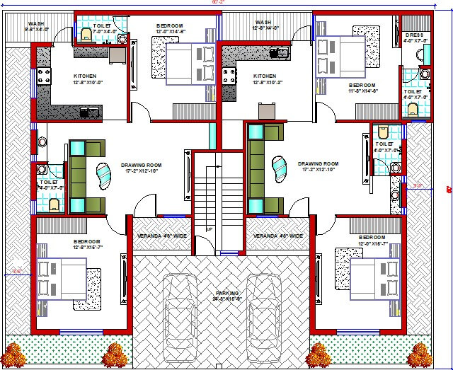 SMALL HOUSE FLOOR PLANS WITH GARAGE FOR 2 CAR