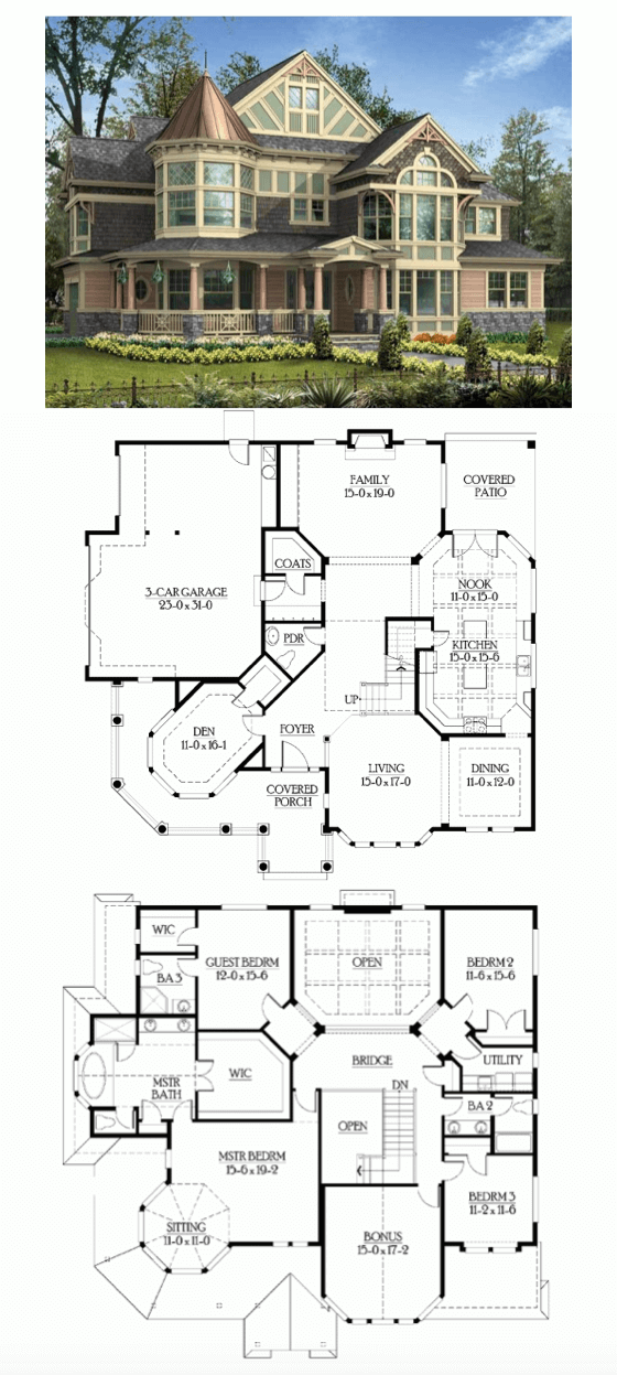 AWESOME SMALL HOUSE COTTAGE PLANS
