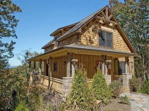 CLASSIC AND MODERATELY RUSTIC SMALL COTTAGE HOUSE PLANS