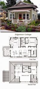 COMPACT SPACES SMALL COTTAGE PLANS IDEAS