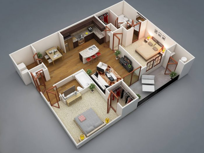 SMALL 2 BEDROOM HOUSE PLANS ADVANTAGES