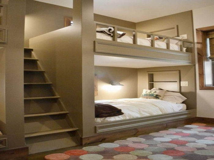 THE TIPS FOR SMALL BEDROOM HOUSE PLANS WITH BUNKBEDS