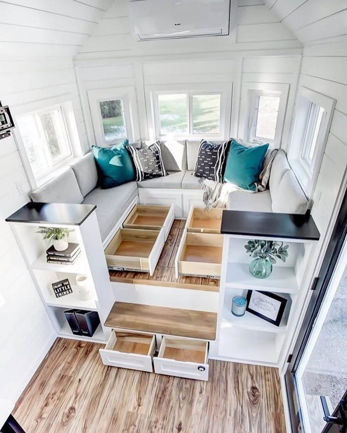 TINY HOUSE LIVING STORAGE IDEAS