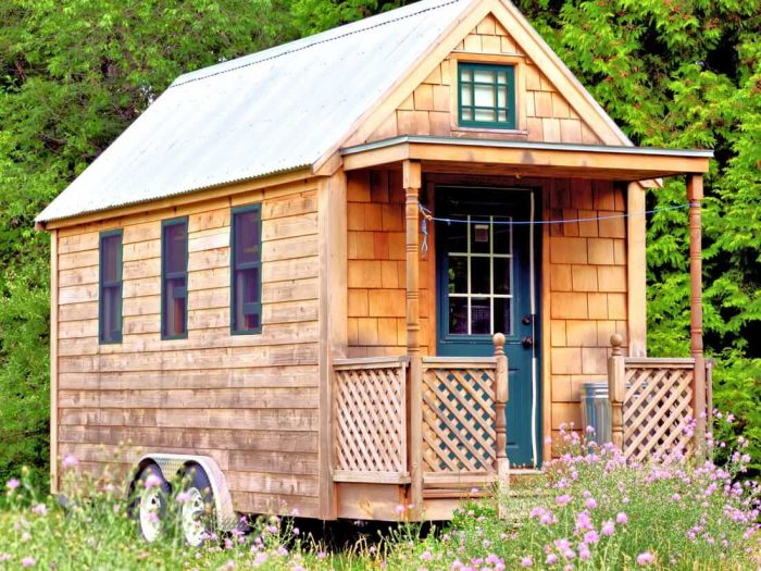 TINY HOUSE ON WHEEL DESIGN IDEAS