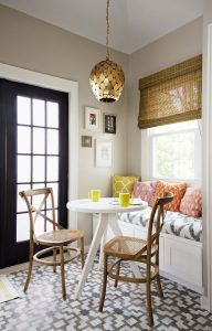 GOLD SHELLS DINING ROOM LIGHTING IDEAS FOR SMALL SPACE