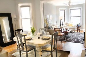 MIRROR MAGIC IN DINING ROOM SMALL SPACE